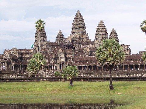Angkor Wat near Siem Reap in Cambodia