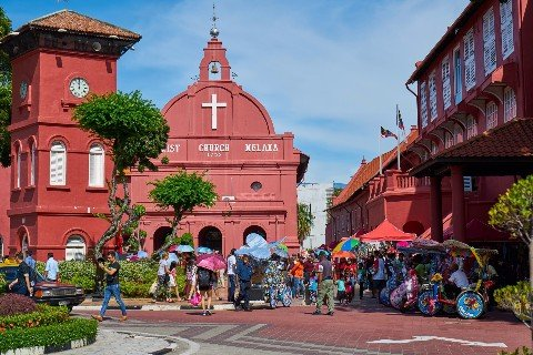 Christ Church in Malacca
