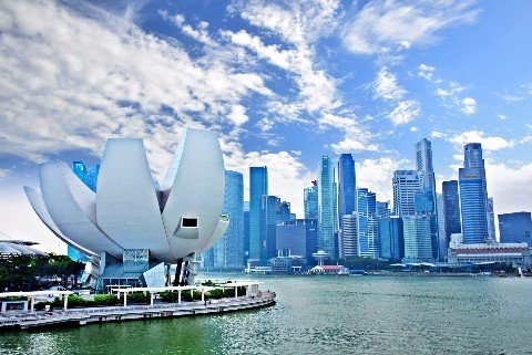Marina Bay in Singapore