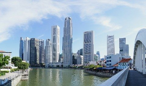 City skyline of Singapore