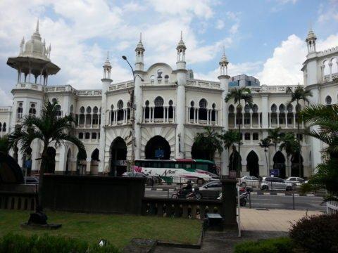 Kuala Lumpur's Old Railway Station