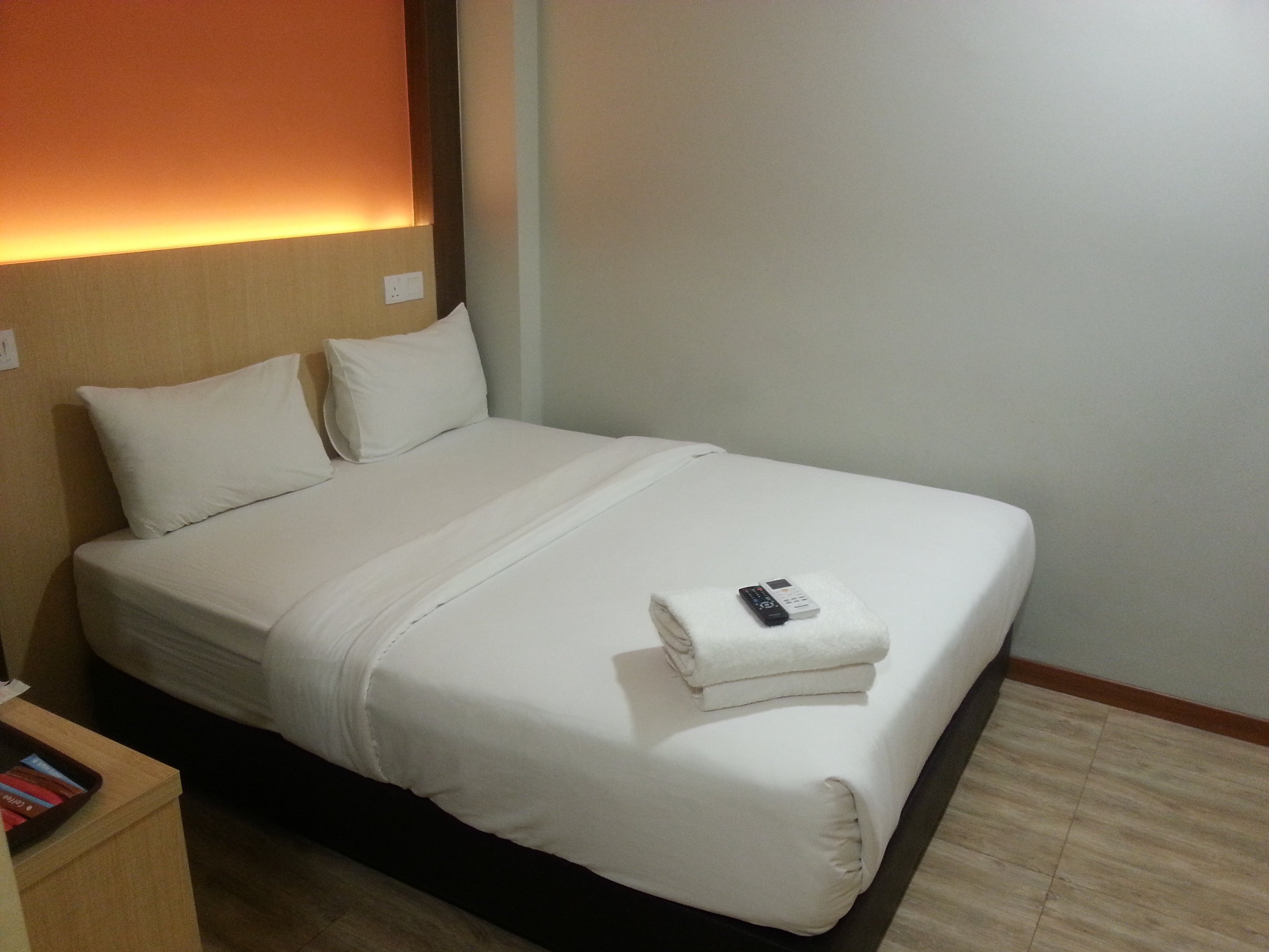 Bed at City Central Hotel KL