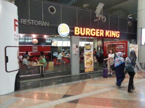 Burger King at KL Sentral Station