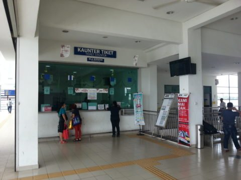 Ticket Counter at Butterworth Railway Station