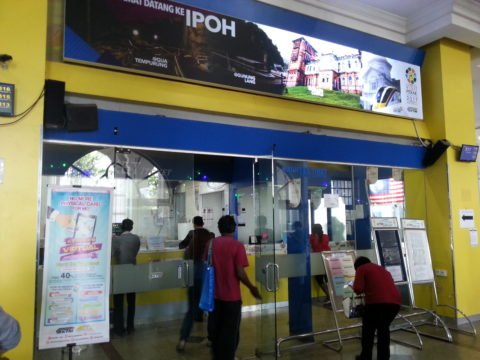 Ticket Office at Ipoh Train Station