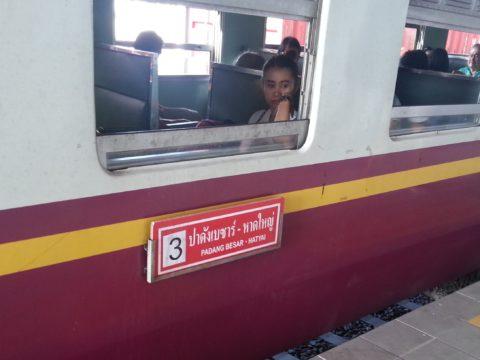 Train from Padang Besar to Hat Yai