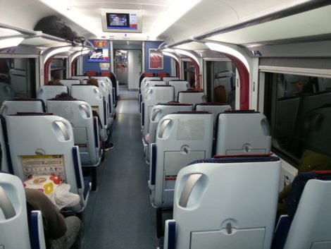 ETS Gold Train Carriage