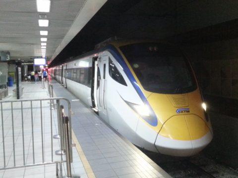 ETS Gold train at KL Sentral Station