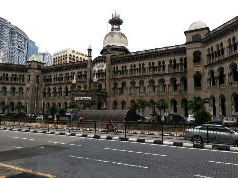 Headquarters of the KTM in Kuala Lumpur