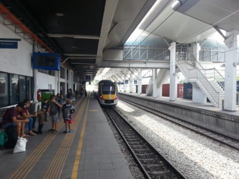 KTM Komuter Train at Padang Besar Station