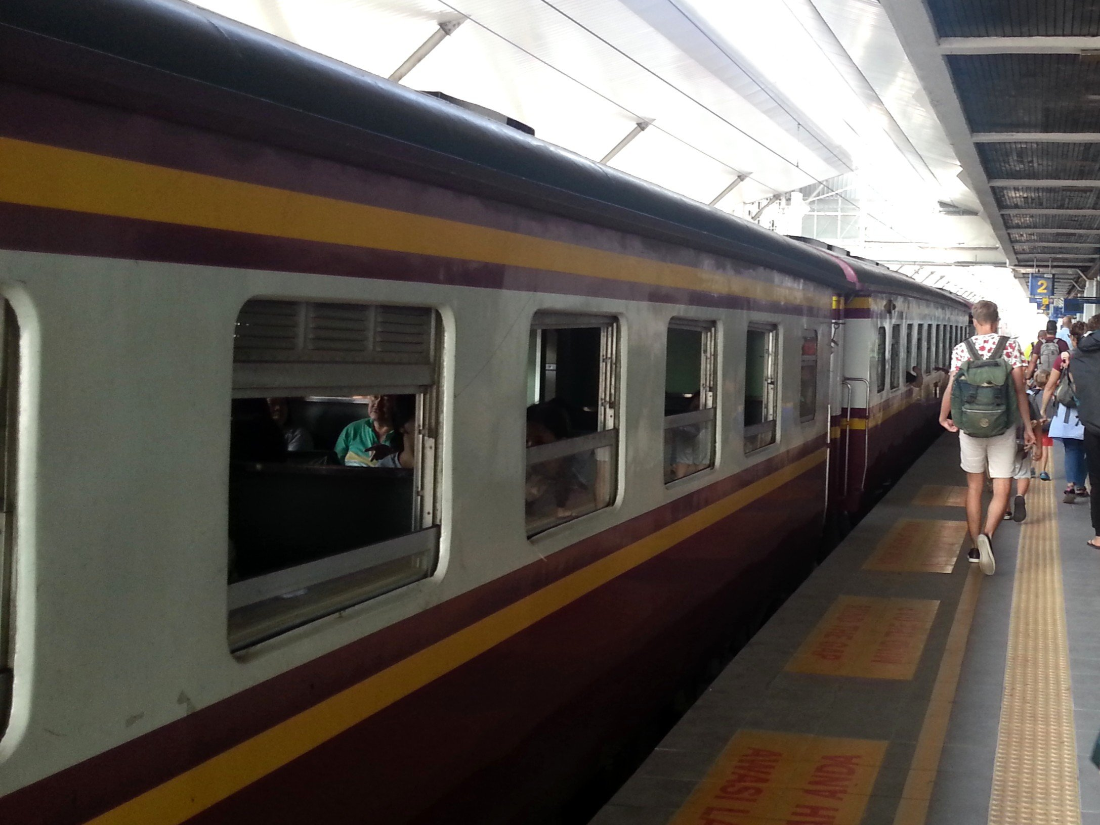 Padang Besar to Hat Yai shuttle train