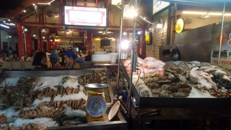 Fish on sale at Hua Hin Night Market