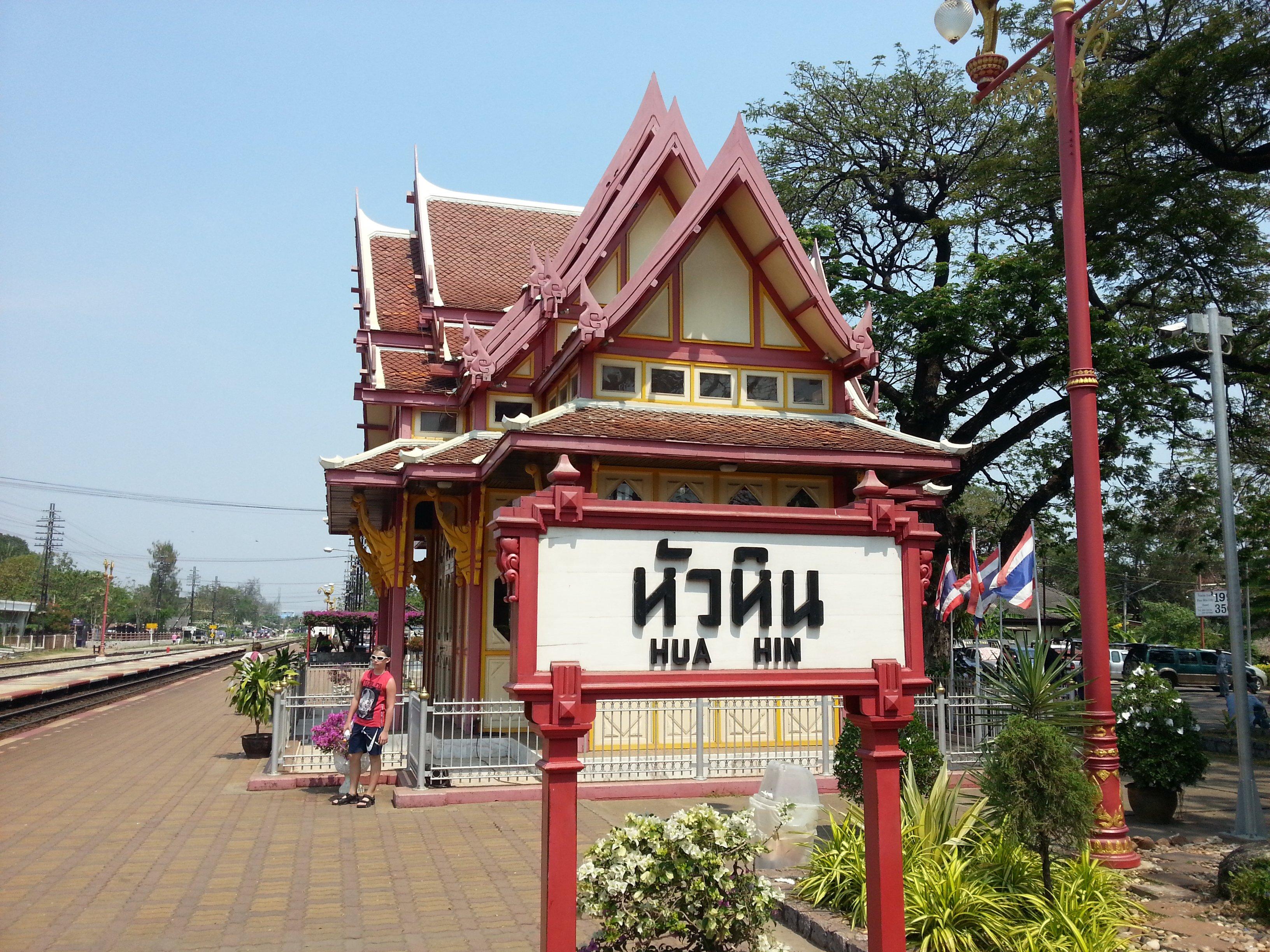 Hua Hin has a historic railway station