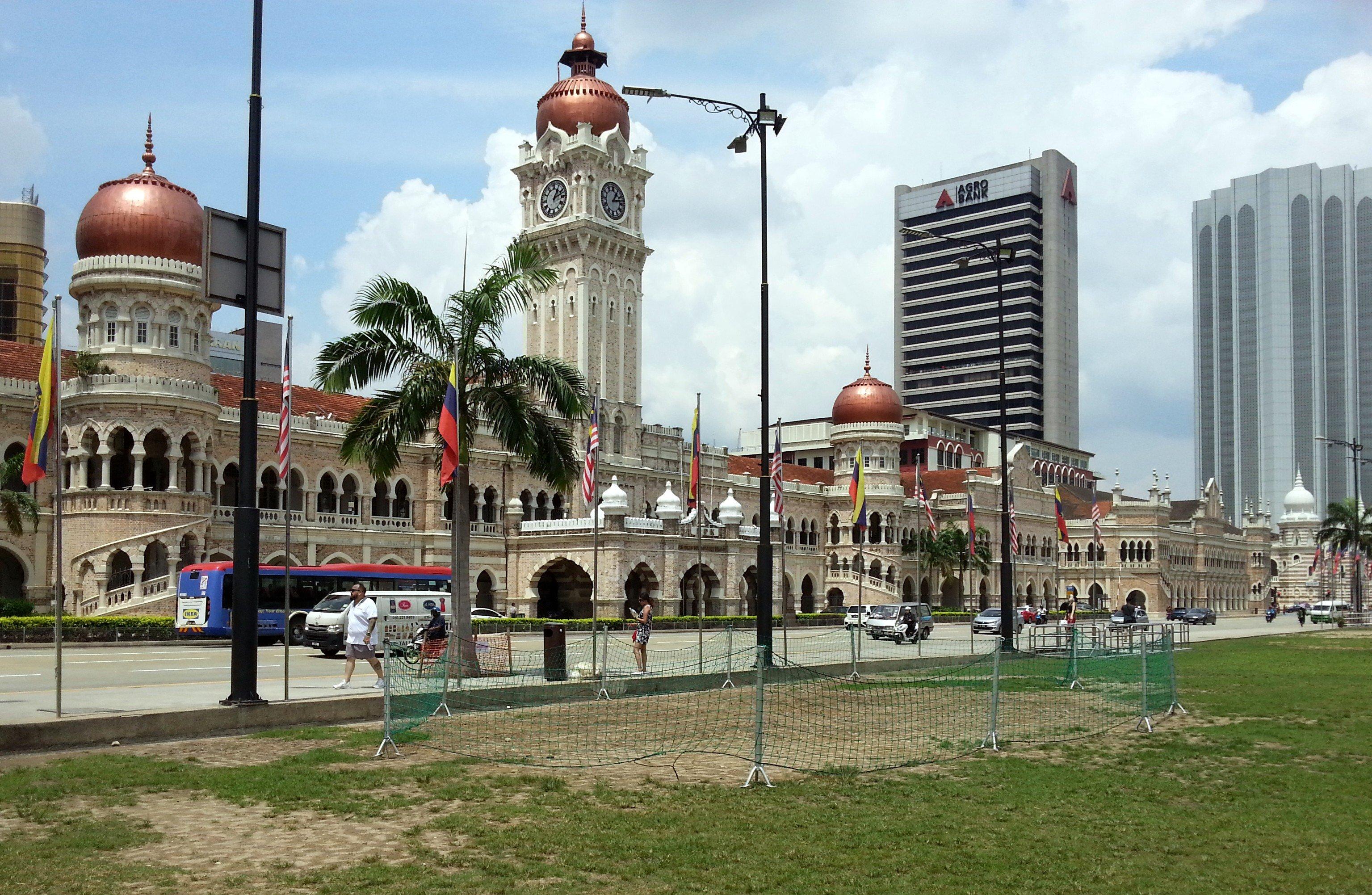 Sultan Abdul Samad Building on Merdeka Square in Kuala Lumpur