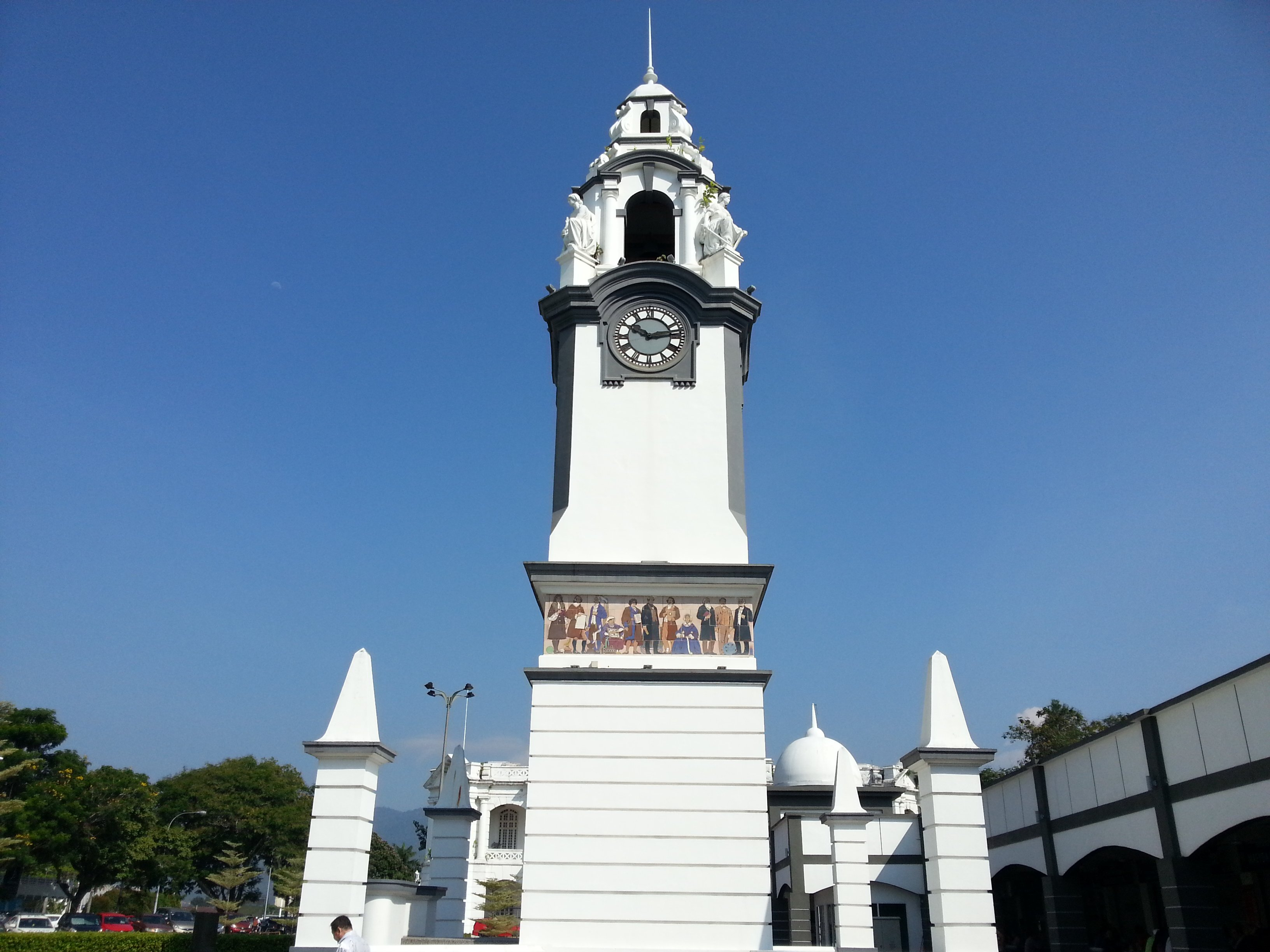 Birch Memorial Clock Tower in Ipoh