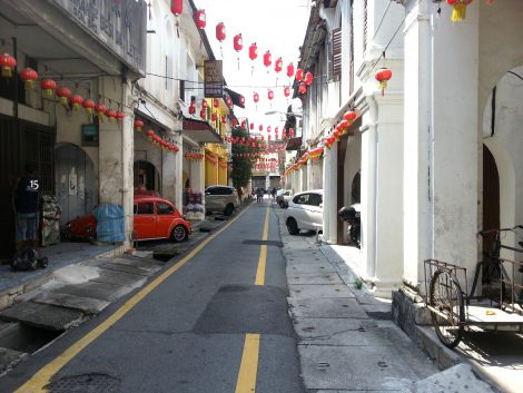 Concubine Lane in Ipoh Old Town