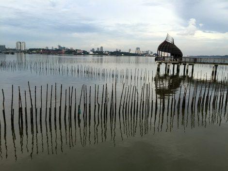 Coastal nature reserve near Johor Bahru