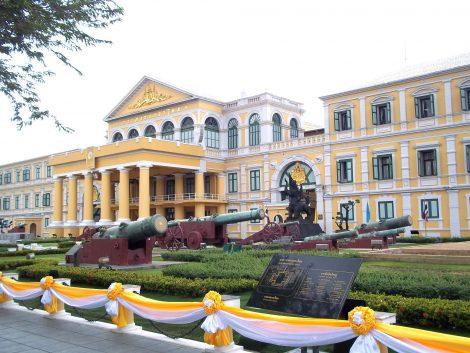 Defense Ministry Hall in Bangkok