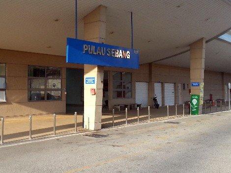 Entrance to Pulau Sebang/Tampin Railway Station