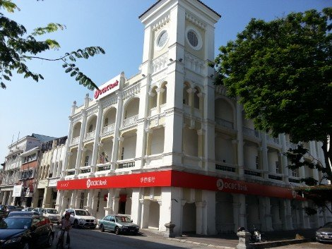 The Straights Trading Building in Ipoh