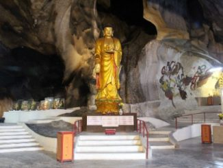 Cave temple in Ipoh