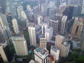 Kuala Lumpur is a modern city
