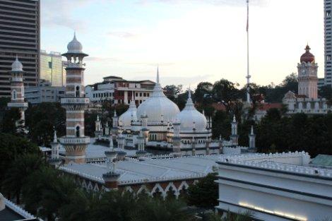Jamek Mosque in Kuala Lumpur