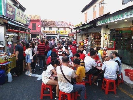 Jonker Street Night Market in Malacca