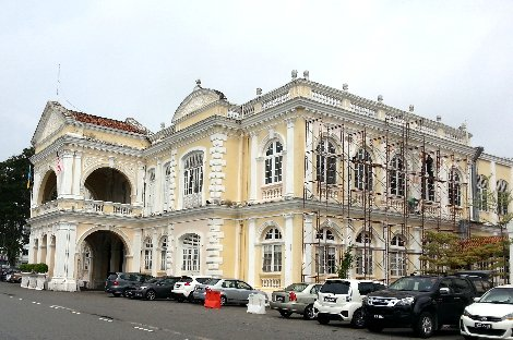 Penang Town Hall in George Town, Penang Island