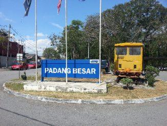 Padang Besar Railway Station in Malaysia