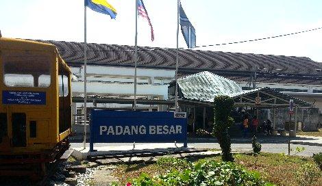Entrance to Padang Besar Railway Station