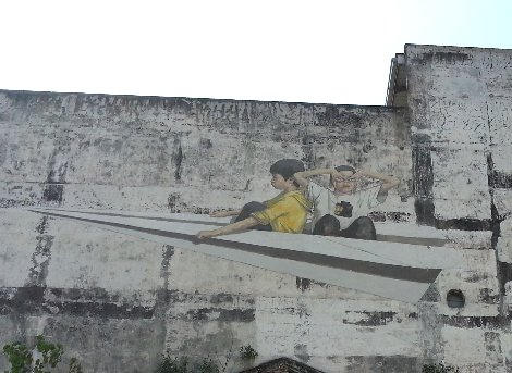 One of things Ipoh is famous for is it's street art