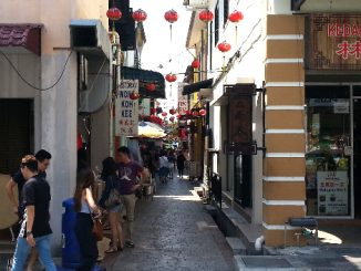 Concubine Lane in Ipoh