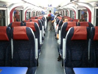 Modern electric trains operate on Malaysia's West Coast Line